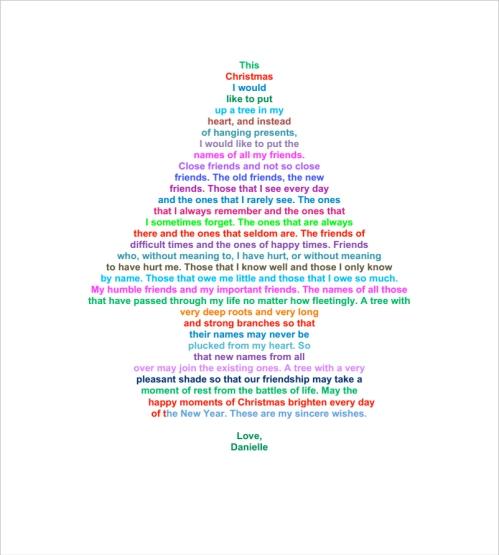 Danny's Christmas Tree