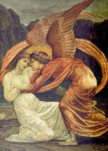 Sisyphus & Psyche - Burne Jones