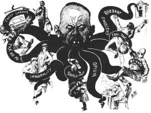 Mongolian octopus, 1886